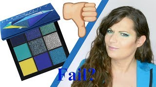 makeup test: Huda Beauty Obsessions Palette