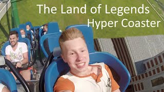 Турция.Белек.Тематический Парк Легенд.Горка Hyper Coaster.The land of Legends