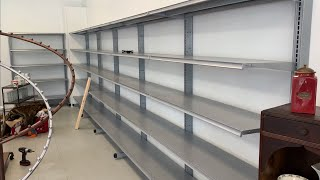 Setting up the Store - Part 1: Building Walls and Emptying out Stuff!