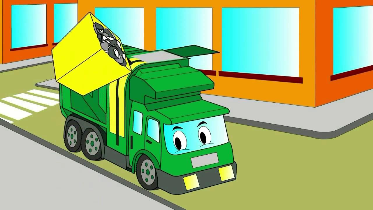 Мультфильм для малышей Машинки раскраска - YouTube