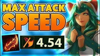 *NEW SKIN* BANNANA ATTACK SPEED RECORD (PENTAKILL) - BunnyFuFuu
