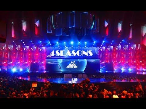 Alight M1music awards backstage