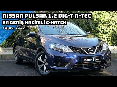 2017 Nissan Pulsar 1.2 DIG-T   En Geniş Hacimli C - Hatch   Neden Almalı ?