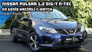 2017 Nissan Pulsar 1.2 DIG-T | En Geniş Hacimli C - Hatch | Neden Almalı ?