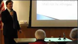 Part 1a, Walla Walla Tea Party January meeting, on the Second Amendment