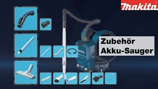 Makita Akku-Sauger Zubehör