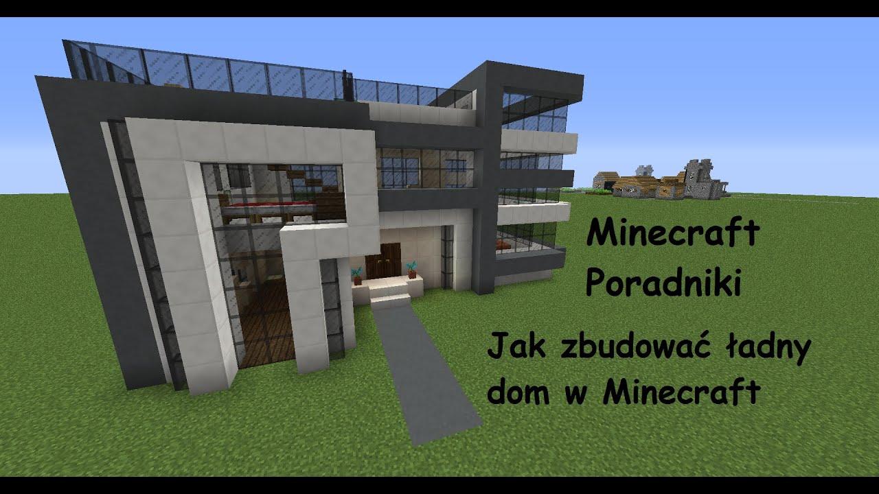 Minecraft Poraniki 32 Jak Zbudowac Ladny Dom 60fps Youtube