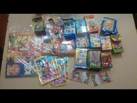 Figuritas Dragon ball Z KAI Cartas Sobres