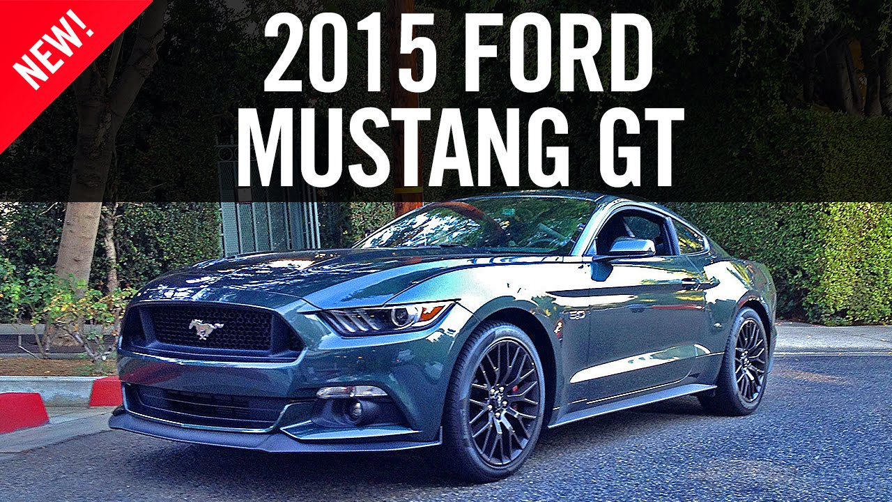 2015 Ford Mustang Gt Review First Drive Youtube