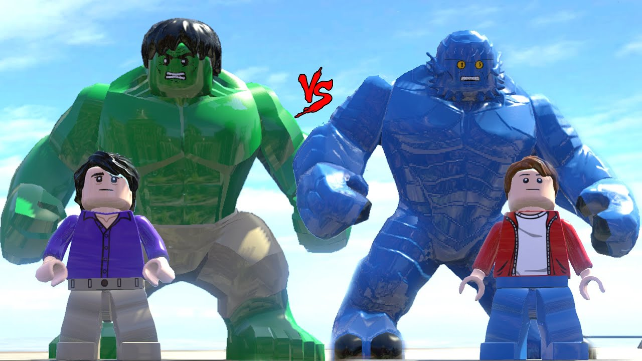 HULK VS A-BOMB (TRANSFORMATION) - LEGO FIGHT (LEGO MARVEL ...