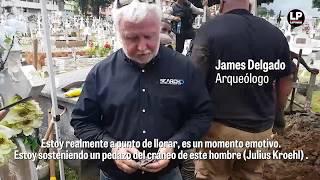 Arqueólogo James Delgado se refiere a la exhumación del cuerpo de Julius Kroehl