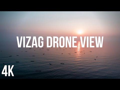 VIZAG by DRONE  (4K)