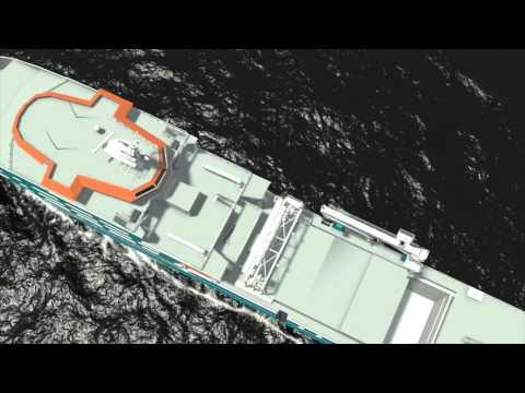 Safety en introductievideo , gemaakt voor Acta Marine (deels 3D animatie)