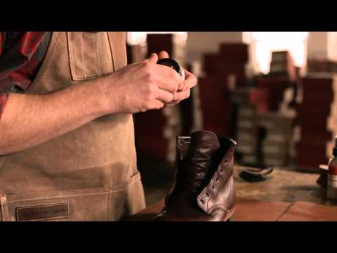 Red Wing Heritage - How to care for Smooth Finished leather boots