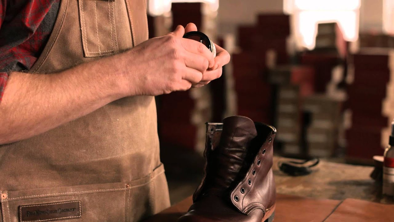 Red Wing Heritage - How to care for Smooth Finished leather boots ...