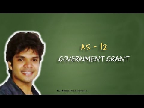 AS- 12 Government Grant AS12
