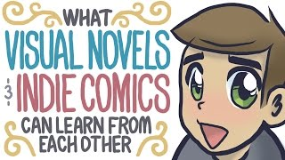 What Visual Novels & Indie Comics Can Learn From Each Other