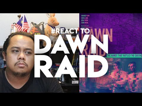 #ZHAFVLOG - DAY 138/365 - #REACT to Dawn Raid Teaser Trailer | Bront Palarae Film Malaysia Guthrie