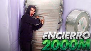 ENCIERRO A SHOOTER CON +2000 METROS DE CINTA AMERICANA EN SU CUARTO [Salva]