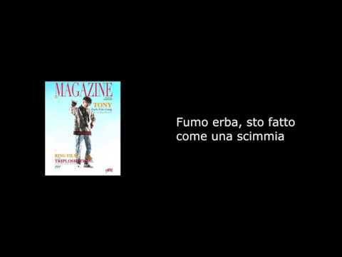 Testo - Magazine - Dark Polo Gang