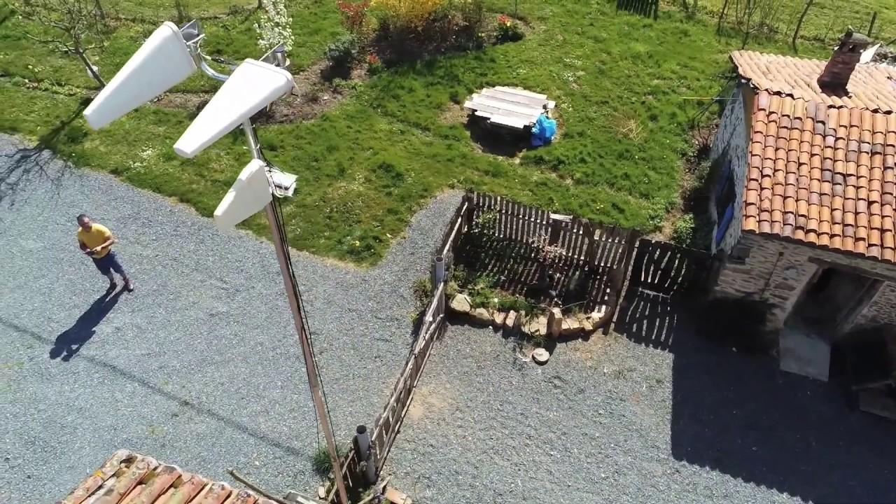 Yagi Antenna (lte 4G) #PARROT ANAFI - Drone Footage