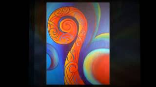 Reina Cottier Art - Tribal Koru Series 2012-2013
