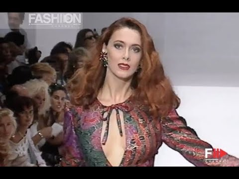 RAFFAELLA CURIEL Fall 1991/1992 Haute Couture Rome - Fashion Channel