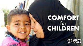 How refugee parents comfort their kids