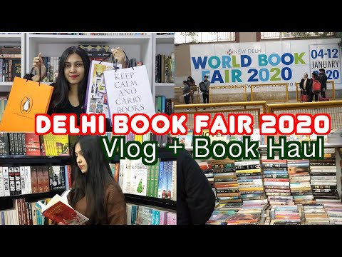 DELHI WORLD BOOK FAIR 2020 ll VLOG & BOOK HAUL ll Saumya's Bookstation