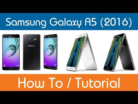 How To Access The User Manual - Samsung Galaxy A5