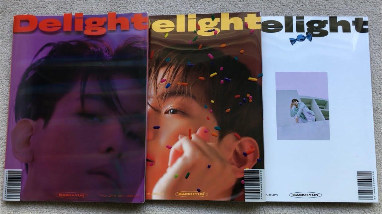 Unboxing Baekhyun 백현 2nd Mini Album Delight Cinnamon Honey