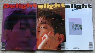 Baixar ♡Unboxing Baekhyun 백현 2nd Mini Album Delight (Cinnamon, Honey & Mint Ver.)♡