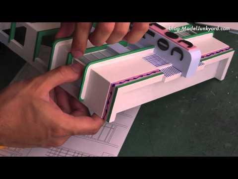 Colony Hotel - 1:43 scale model - #4 Windows   MODELJUNKYARD.COM