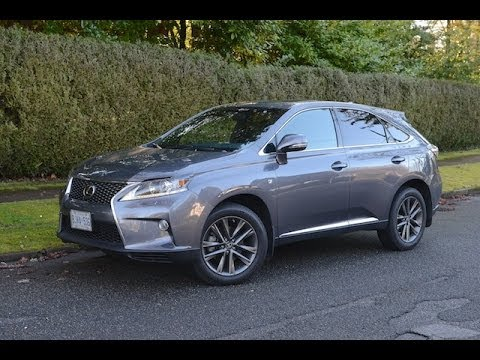 2014 Lexus RX350 F Sport Review   YouTube