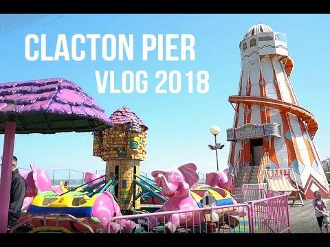 Clacton-on-Sea Pier Vlog 2018   Food, Rides & Arcades!