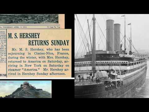 Titanic and Milton Hershey