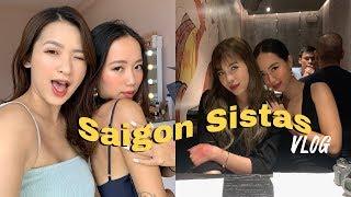 Sài Gòn tháng 6 cùng chị em ft. themakeaholics & changmakeup ♡   vitamin be
