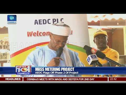 AEDC Flags Off Phase Two Of Mass Metering Project