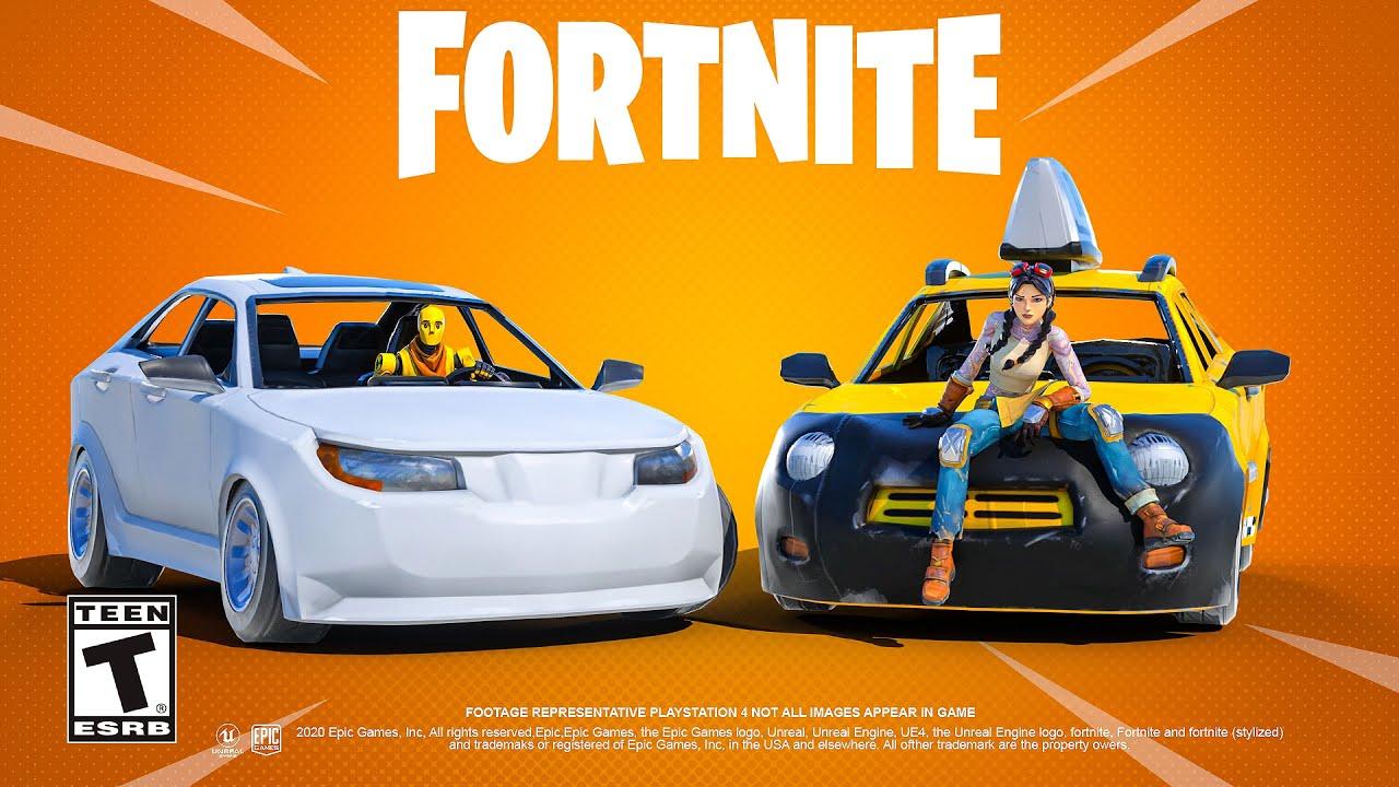 Fortnite Cars Update Youtube