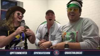 Pardon My Take Exit Interview With Colts Punter Pat McAfee