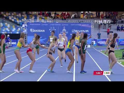 Универсиада-2019. Яркая победа Украины в эстафете 4х400