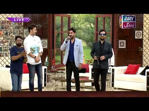 First time, our Music Legends Abrar Ul Haq & Saleem Javed performed live