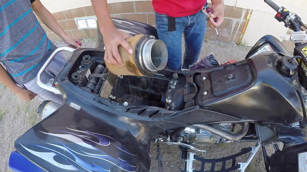 HONDA TRX450R 450R   K/&N AIR FILTER