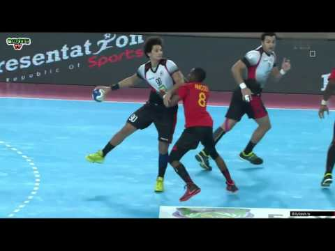 Egypt VS Angola Handball 1/2 finale CAN 2016