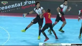 Egypt VS Angola Handball 1/2 finale CAN 2016