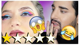 Worst Reviewed Makeup Artist! Pro MUA Reacts - JUDY D