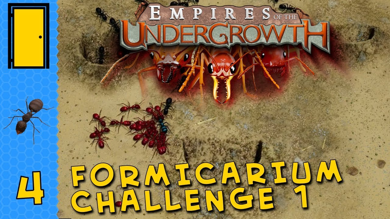 Empires of the Undergrowth - Formicarium Challenge 1 - Ant Colony Simulator