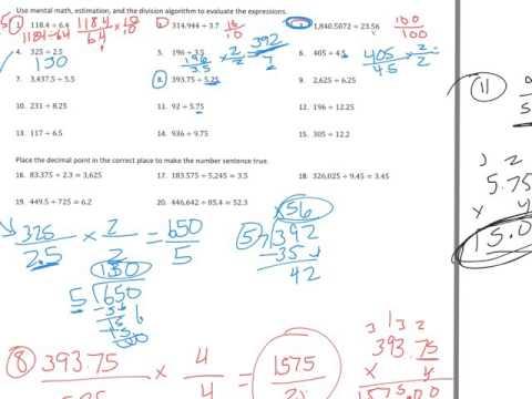 6th Grade Module 2 Lesson 15 PS