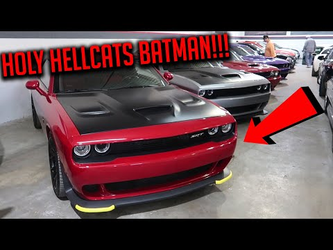 I FOUND A HIDDEN STASH OF HIGHLY MODIFIED MUSCLE CARS & USHERS CGT!!!