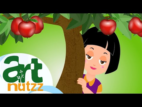 Red are the apples | colors songs for kindergarten | English Nursery Rhymes Kids Songs Baby Songs